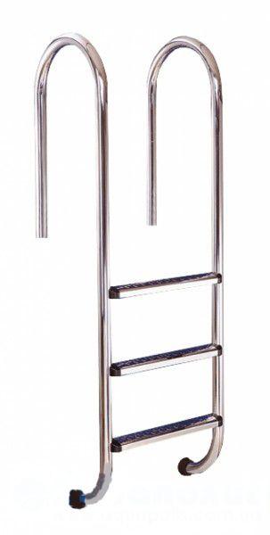 MURO (WALL) 3 ст для бассейна лестница из нержавеющей стали