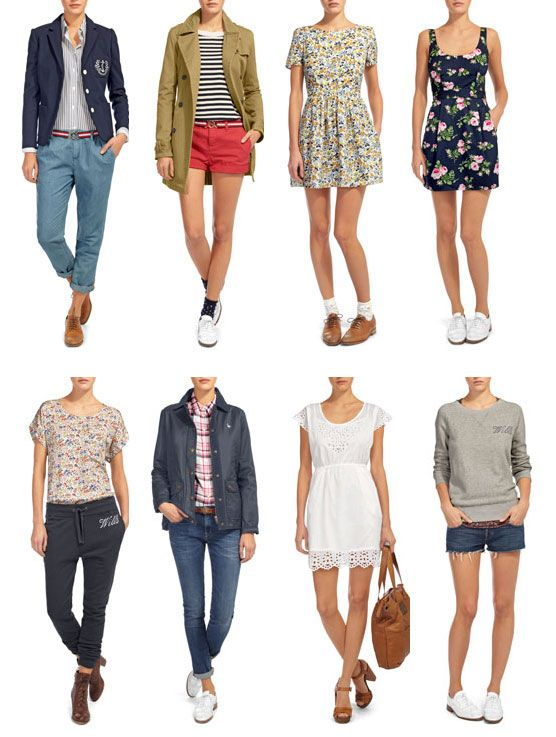 Preppy Clothes for Women | Perfectly preppy spring looks from Jack Wills - StyleBakery*Teen ...