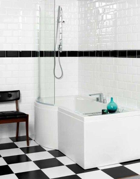 #Baden und #Duschen in #Kombination - #Raumsparwanne #Space #Multi von #Airquatec www.airquatec.de