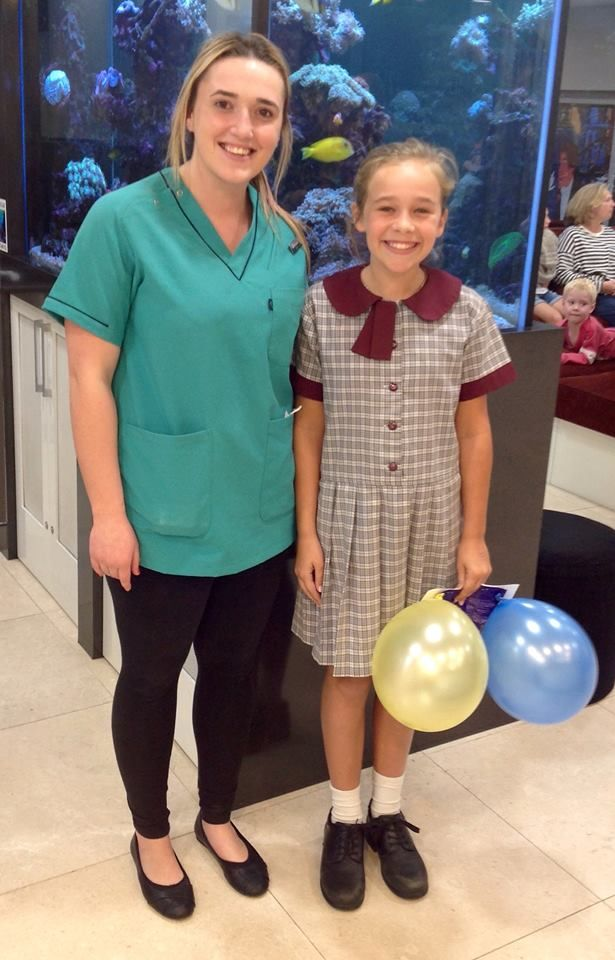 Congratulations on getting your braces off Ashlee - what a wonderful result! #bracesoff #norwestorthodontics #perfectsmile