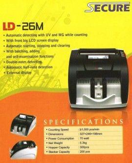 Mesin Hitung Uang Secure LD 26M
