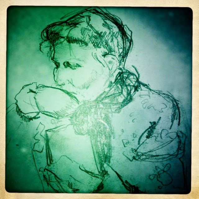 Zillie Suzie O: En tegning fra gemmerne... Louise