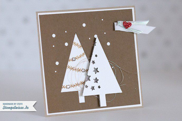 Stampin' Up! - Swaps - Convention Brüssel 2014 ❤ Tree Punch with Festival of Trees.