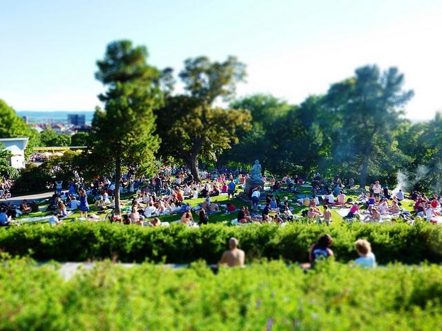 Park kveld St Hanshaugen. Photos by Bymiljøetaten, via Flickr