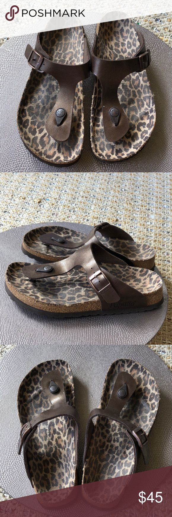 Papilllio Gizeh Birkenstock Papillio Gizeh Sandals. In great condition! Description and details in pictures 🌺 Birkenstock Shoes Flats & Loafers
