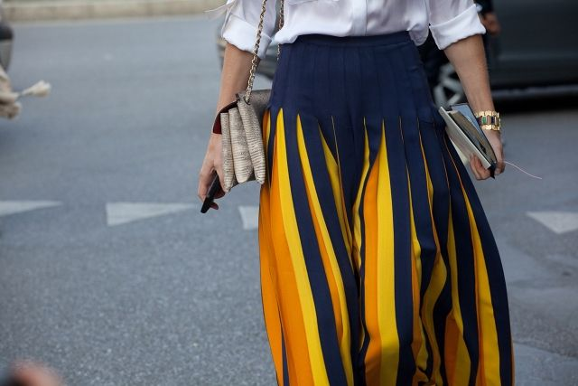 amazing skirt worn by JJ Martin
