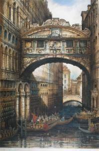 Edward W. Sharland - Bridge Of Sighs, Venice