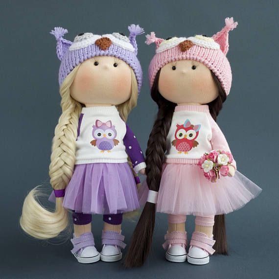 Colección textil muñeca muñeca tela muñeca trapo juguete