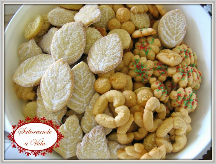 Os melhores biscoitos estão aqui! - Biscoitos 'Spritz' Suecos de Amêndoas, Para Comer ou Presentear no Natal e .... - biscoitos, bolachas, cookies