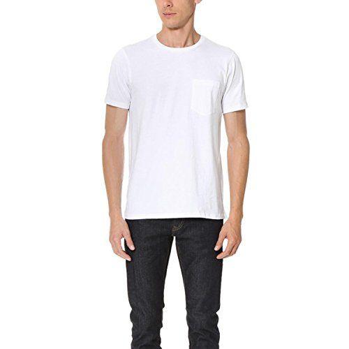 (クラブ モナコ) Club Monaco メンズ トップス Tシャツ Williams Crew Pocket Tee 並行輸入品  新品【取り寄せ商品のため、お届けまでに2週間前後かかります。】 表示サイズ表はすべて【参考サイズ】です。ご不明点はお問合せ下さい。 カラー:White
