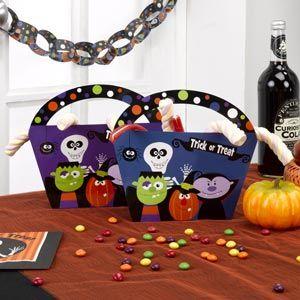 Kids Halloween Party Loot Bag