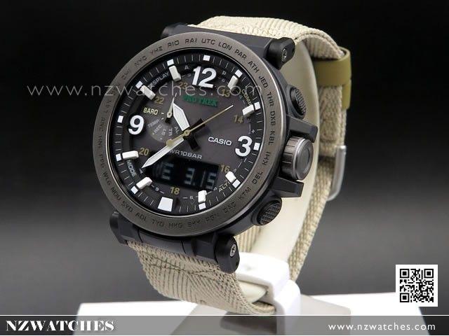 Casio PROTREK Triple Sensor Ver 3 Tough Solar Watch PRG-600-1, PRG600