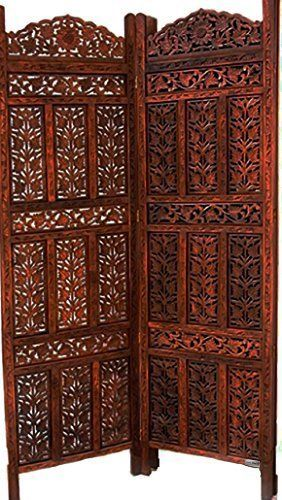 14000 rupees is $217  According to Amazon India, the shipping is free.    Aarsun Woods Hand-Carved Wooden Partition Screen/ Room Divider In Sheesham Wood