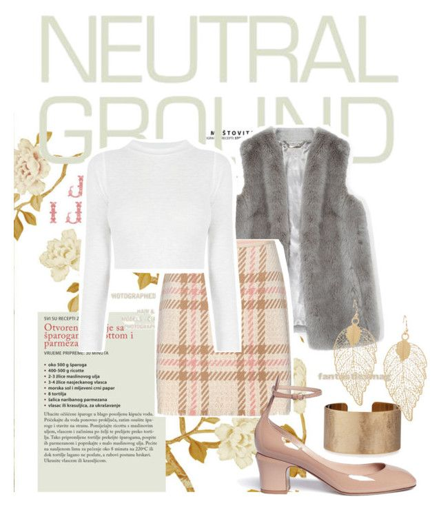 """Walking on neutral ground"" by catherine-megan-jones on Polyvore featuring Precis Petite, MARC CAIN, Panacea and Valentino"