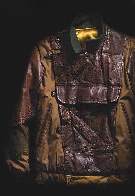 C.P. Company AW '82 Poplin Jacket inspired by a vintage Dutch police jacket.