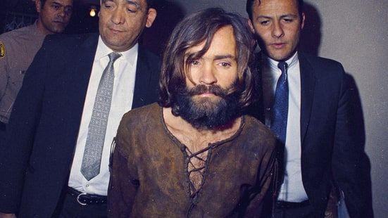 Beach Boys singer Mike Love recalls a disturbing brush with Charles Manson in a teaser for TV documentary 'Truth and Lies: The Family Manson.'