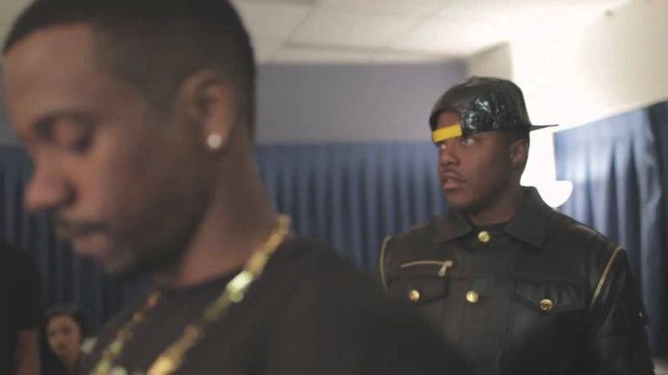 Diddy & Mase Backstage At Drake's OVO Fest