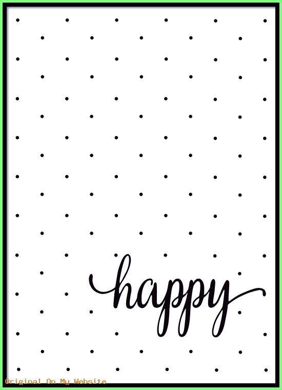 Tumblr Hintergrundbilder Iphone – Schwarz-Weiß-Poster mit Text und Punkten