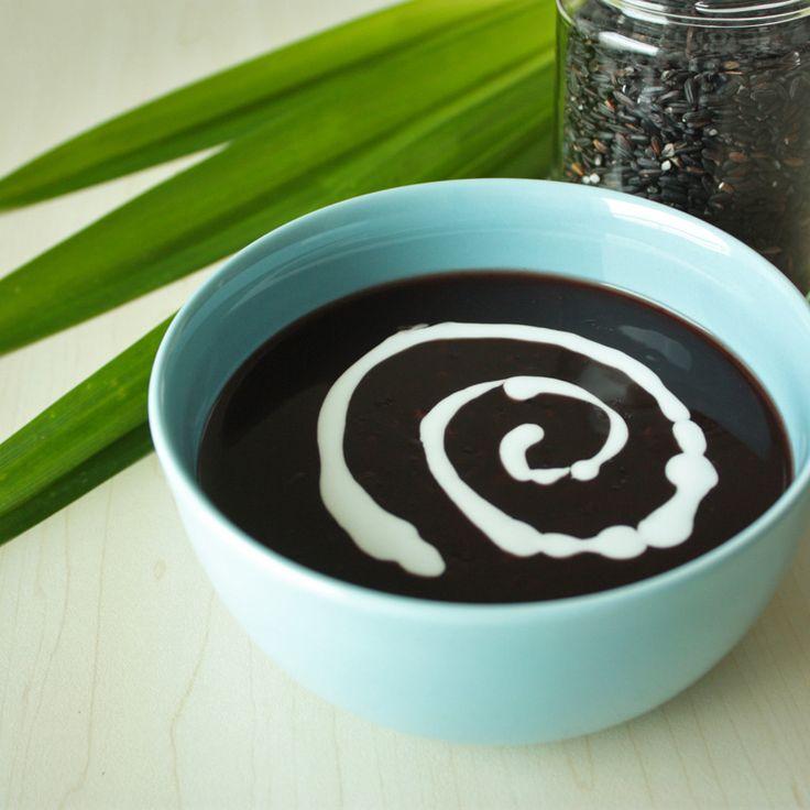 Bubur Ketan Hitam – Glutinous Black Rice Sweet Porridge