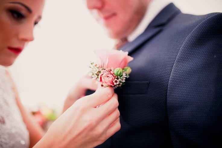 Mr. & Mrs. svatební květiny - dekorace Lenka Pačinková