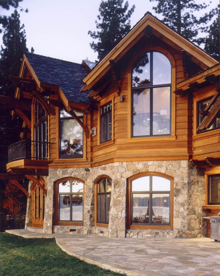 Best 25 mountain home exterior ideas on pinterest for Log home architects