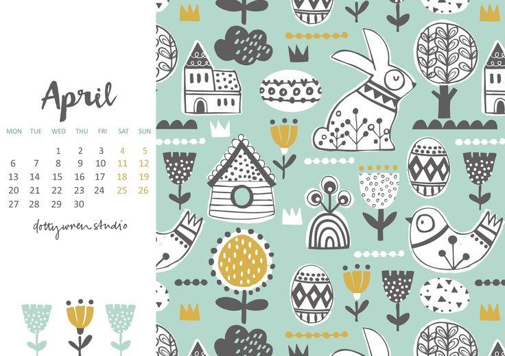 25 unique downloadable calendar ideas on pinterest for Calendrier digital mural