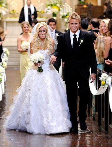 Heidi Montag and Spencer Pratt, Apr 25, 2012.