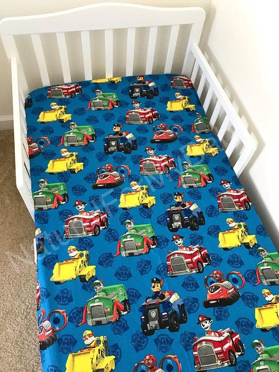 Disney Paw Patrol Fitted Crib Sheet Paw Patrol Toddler