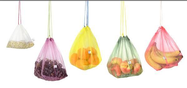 Frusack je kompostovatelný znovupoužitelný sáček k nákupu ovoce a zeleniny…