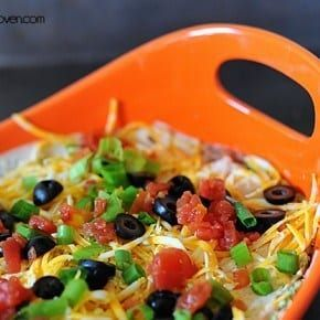This burrito casserole is shaped like a pie for a fun twist on taco night! As you all might have noticed, I have a bit of thang for American-ized Mexican food. I mean, don't get me wrong – I love REAL Mexican food too. It's just that I live in central Illinois and the real …
