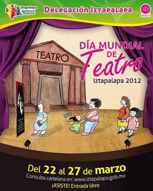 Dia mundial del teatro by Jose Juan minime, via Flickr