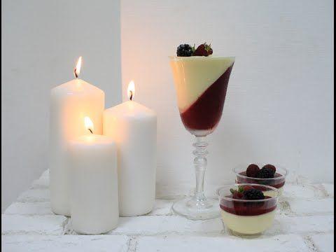Кокосовый мусс / Муссовый десерт в стакане / Mousse Coconut Dessert in a Glass - YouTube