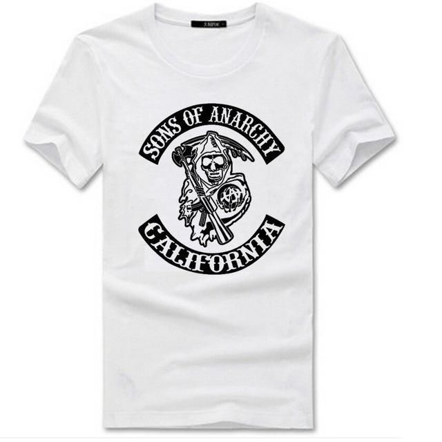 Hot Hip Hop sons of anarchy Short Sleeve O-Neck Cotton T Shirts Men's Lock T-Shirts Fashion 2017 New summer Tees & Tops Clothing https://www.fanprint.com/stores/american-dad?ref=5750