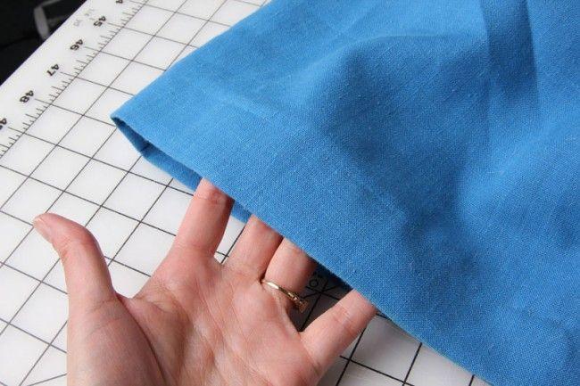 Tutorial: Como coser un dobladillo con costura invisible a máquina.