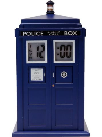Doctor Who | TARDIS Projection Alarm Clock