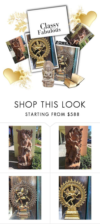 Statue by baydeals on Polyvore featuring interior, interiors, interior design, home, home decor, interior decorating, Apsara, homedecor, statue and sculpture  http://stores.ebay.com/mogulgallery/Statue-/_i.html?_fsub=1641682219&_sid=3781319&_trksid=p4634.c0.m322