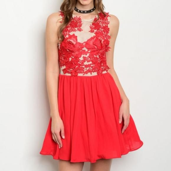 """LADY IN RED"" DRESS"
