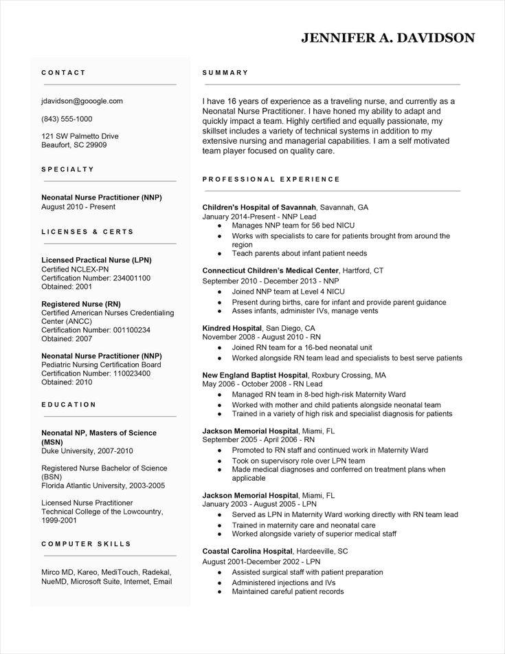 Basic Resume Examples Minimalist Resume Examples Rn Resume Nursing Resume Rn Resume Template