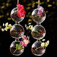 ひょうたん形のガラスの花瓶をぶら下げ – JPY ¥ 782