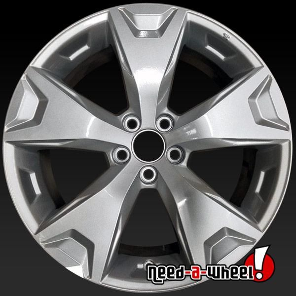 2014 2016 Subaru Forester Oem Wheels For Sale 17 Silver Stock