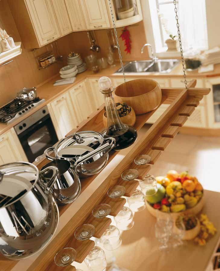 Rusticna kuhinja iz italije provenzale tradicionalna for Aran world kitchen cabinets