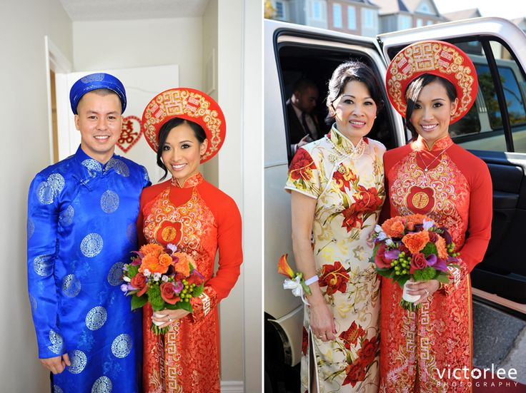 Traditional Vietnamese Wedding Outfits