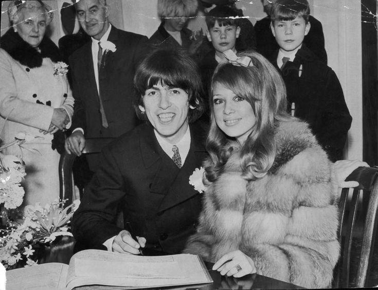 George Harrison e Patti Boyd, 1966