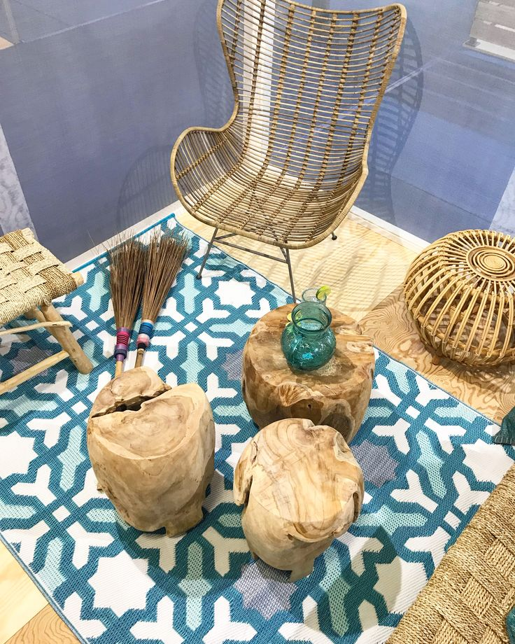 Ethnic Style - Decoration - Interior Design - Chairs -Stools - Side Tables