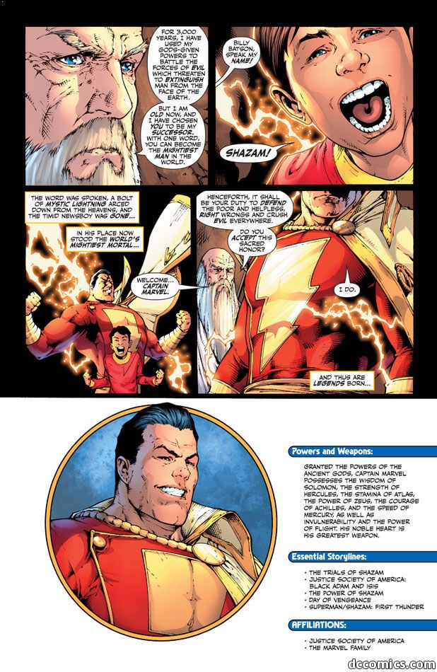 captain marvel power of zeus