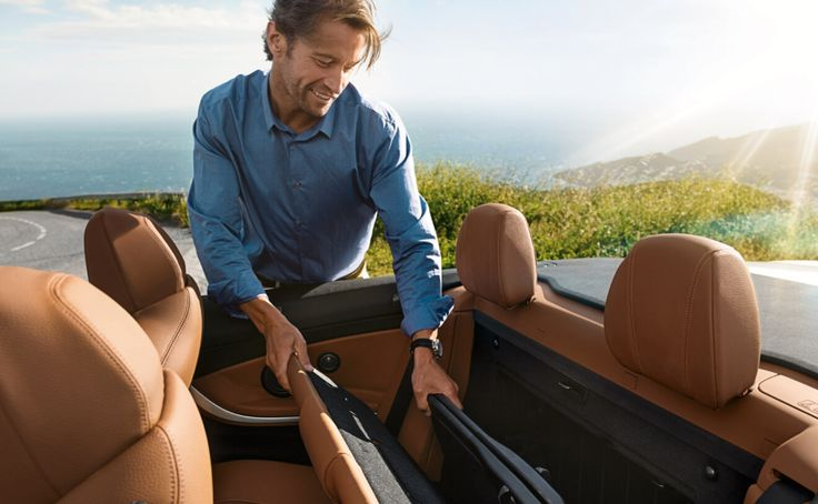 The BMW 440i Convertible with Split fold-down-rear seat
