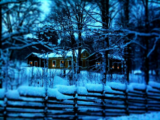 Winter House at Djurgården   http://blogg.attefall.se