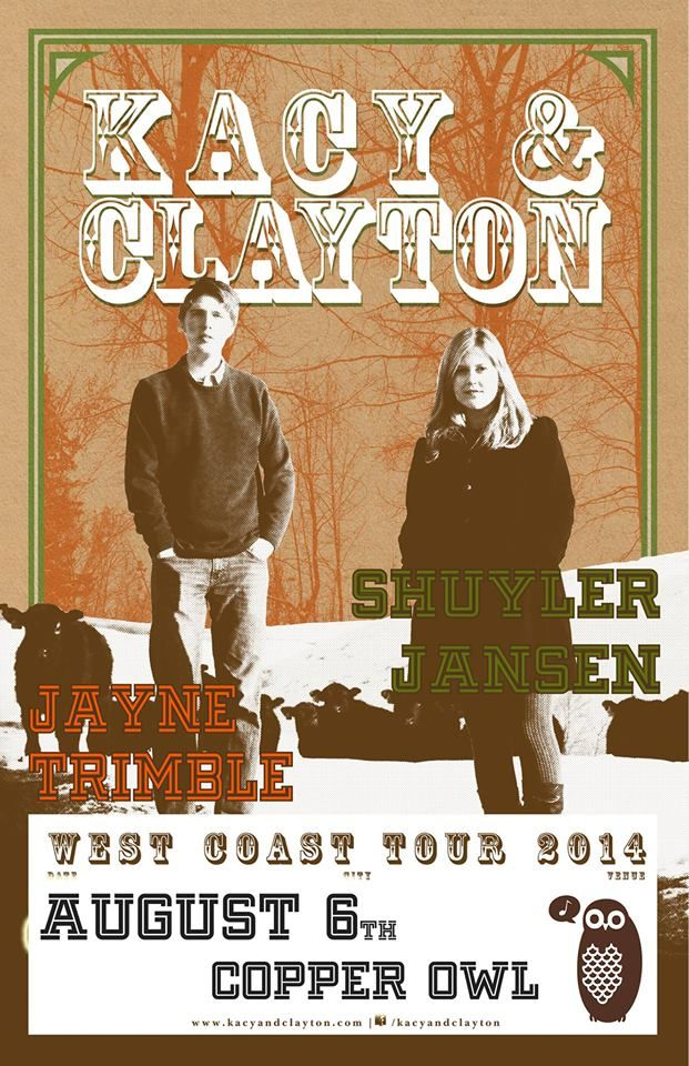 Kacy & Clayton, Shuyler Jansen and Jayne Trimble 2014