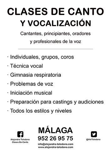Clases de canto y vocalización para cantantes, profesionales de la voz y principiantes.Individuales, grupos y coros. Técnica vocal. Gimnasia respiratoria. Iniciación musical. Rehabilitación de problemas de la voz. Dispongas funcionales. Maestros y locutores.