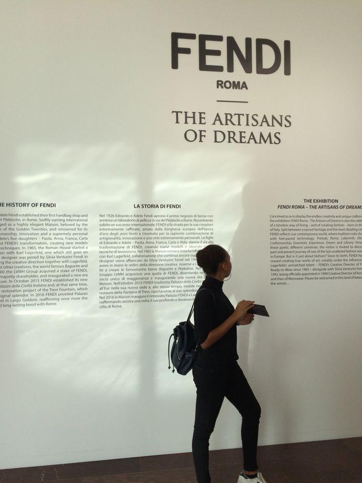 Visited the wonderful Fendi Headquarter today, so amazing! Karl Lagerfeld is legend🙌🏼✨